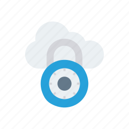 cloud, private, protect, secure icon
