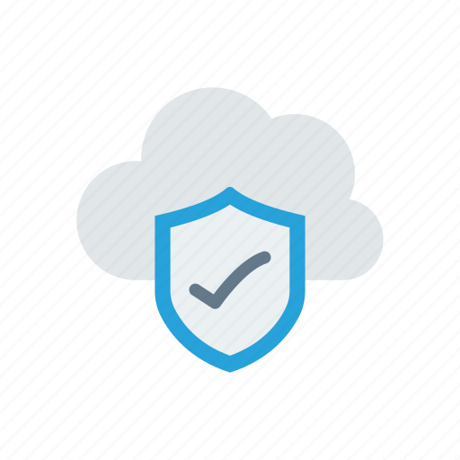 cloud, lock, protection, safe icon