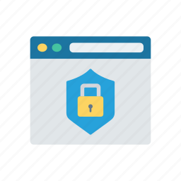 protection, safety, security, web icon