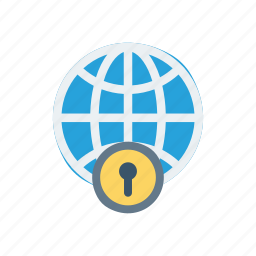 global, protection, security, world icon