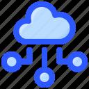 cloud, computing, data, internet icon