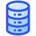 database, internet, online, storage icon