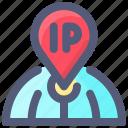 address, internet, ip, protocol icon