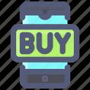 buy, mobile, shopping, smartphone
