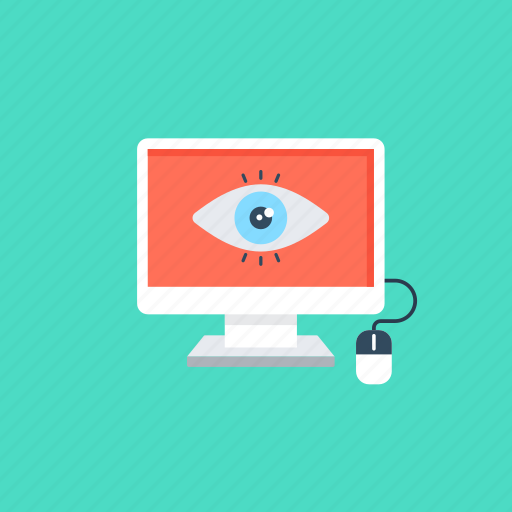 computer monitoring, monitor resources, monitor the system performance, observation., system monitoring icon