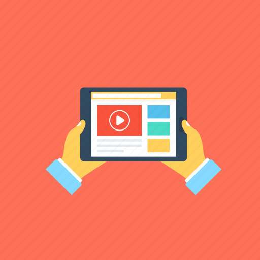 compressed data., content streaming, media streaming, stream of data, video streaming icon