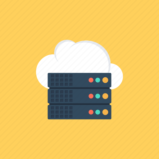 cloud data, data storage., operating system, sharing of resources, system resources icon
