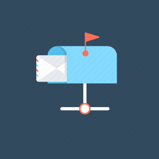 email accounts, mailbox, notifications., sending email, sending messages icon