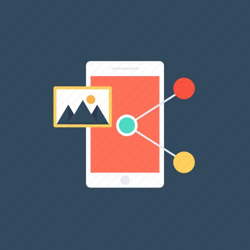 content sharing, data transfer, sharing information, social marketing., social media icon