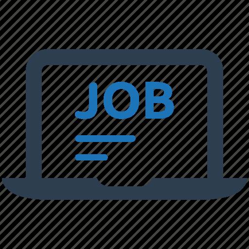 job, online, profile, resume icon