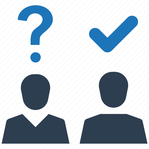 answer, interview, question icon
