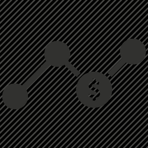analysis, business, financial, market analysis icon