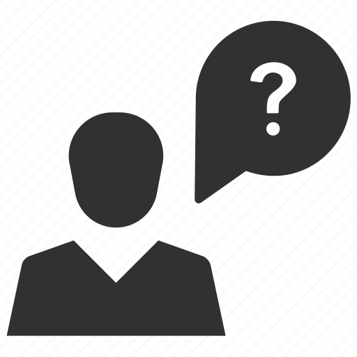 customer support, doubt, help, question icon