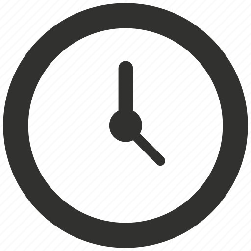 clock, deadline, time, time management icon
