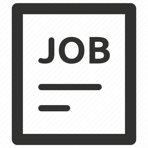 application, curriculum, cv, job icon
