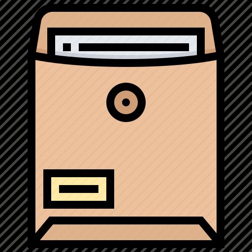 business, confidential, document, formal, secret icon