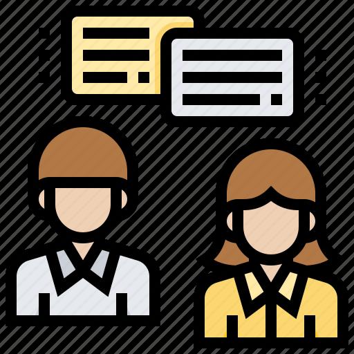chat, communication, conversation, service, talk icon