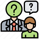 employee, help, interview, job, question