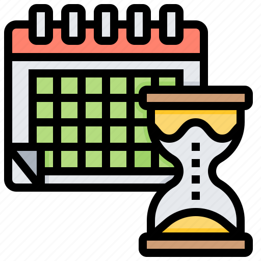 calendar, organising, planning, schedule, time icon
