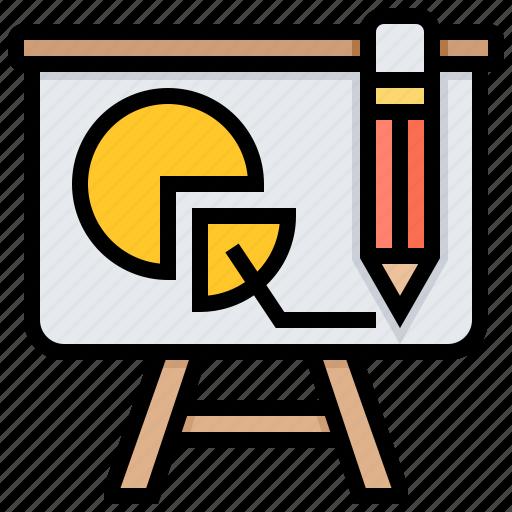 board, chart, presentation, scoring icon
