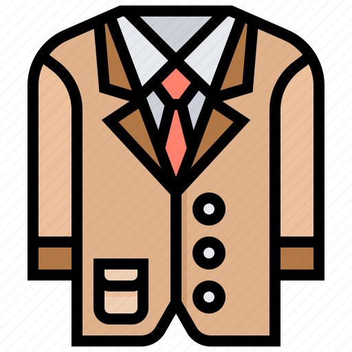 Attire, business, clothes, man, suit icon - Download on Iconfinder