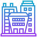building, business, city, company, modern icon