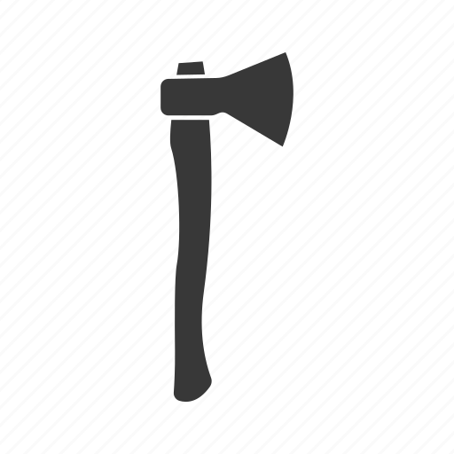 Axe, hatchet, instrument, silhouette, tool icon - Download on Iconfinder