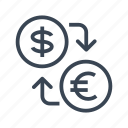 conversion, currency, exchange, money icon