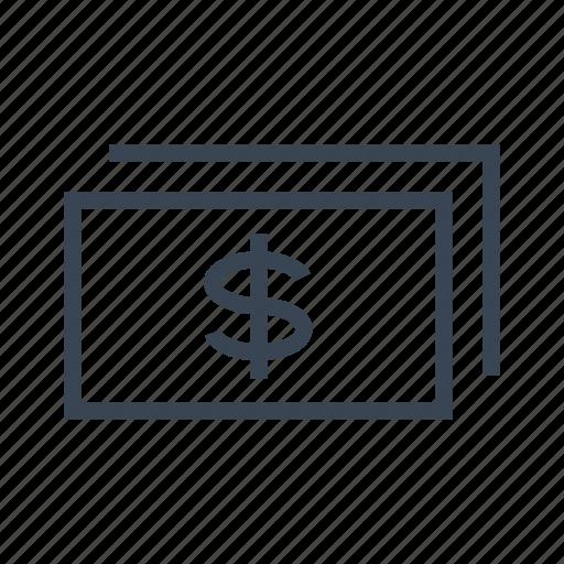 business, cash, dollars, money icon