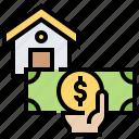 banking, cash, financial, loan, money icon