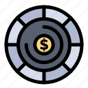 budget, coins, investment