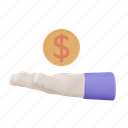 coin on hand, investment, money, finance, business, payment, marketing