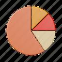pie chart, graph, analytics, business, report, investment, chart