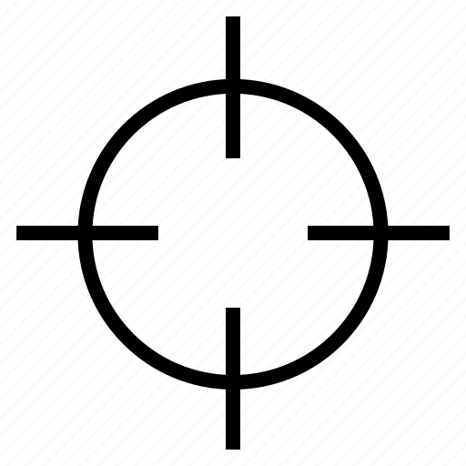 aim, ambition, shooting, shooting target, target icon