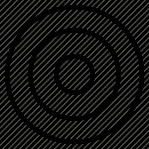board, dartboard, target icon