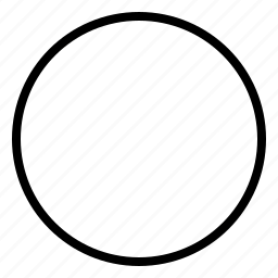 circle, loop, ring, round, sphere icon