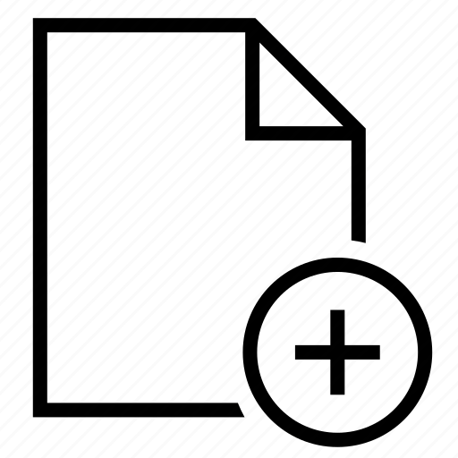 add folder, document, file, file folder, folder, plus folder icon