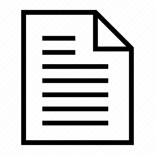 deed, document, note, paper, sheet icon