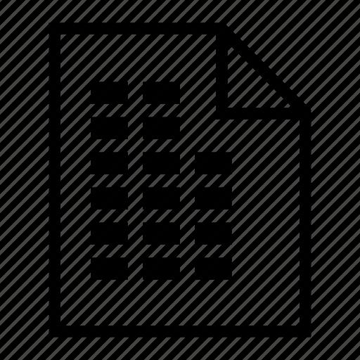 document, file, file folder, folder, storage icon