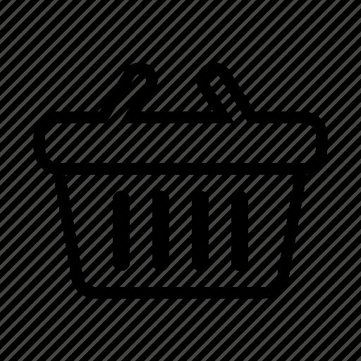 basket, groceries, shopping, shopping basket icon
