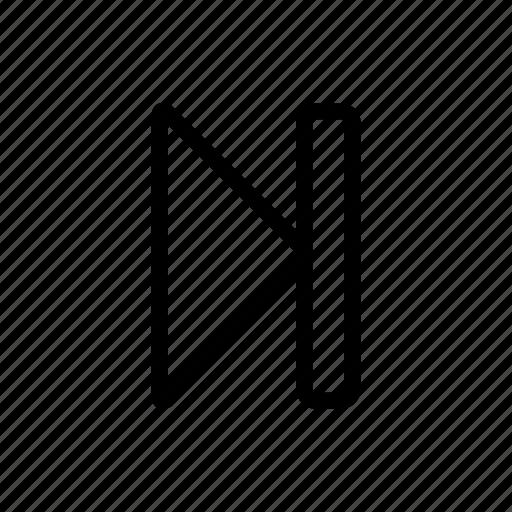 forward, forward button, next, player icon