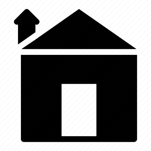 Home, building, residence, property, estate, house icon