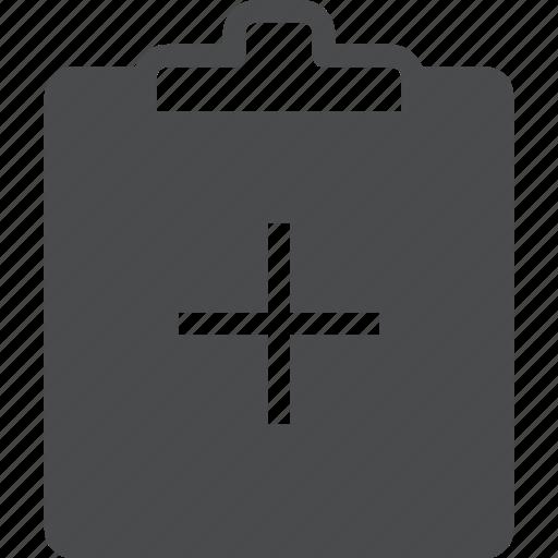 add, clipboard, copy, create, list icon