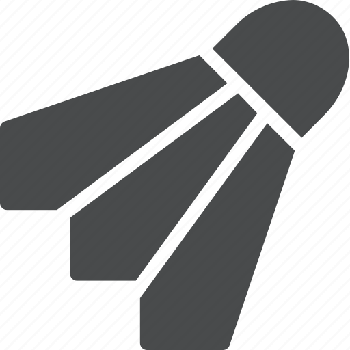 badminton, birdie, sport icon