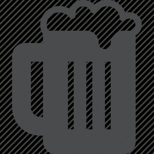 alcohol, beer, beverage, brewery, craft, drink, mug icon