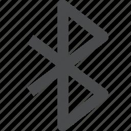 bluetooth, data, technology, transfer, wireless icon