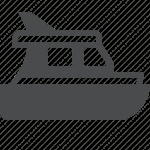 boat, cruise, nautical, sailing, sea, ship, yacht icon