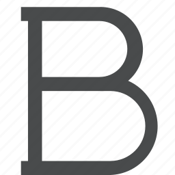 b, bold, editor, text, word icon