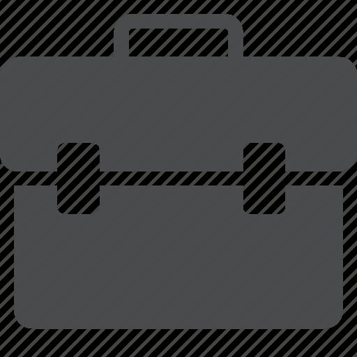 briefcase, luggage, portfolio, suitcase, toolbox icon