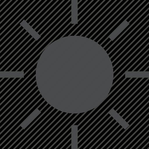 bright, brightness, energy, light, power, solar, sun icon